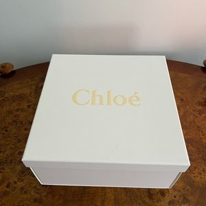 Authentic Chloe paper gift box